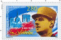 Timbre : 1995 8 MAI 1945 La Victoire   WikiTimbres