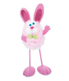 Long Leg Bunny Craft Egg