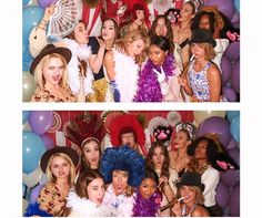 Taylor Swift and her showbiz gal pals get silly in the photobooth at Jaime King's baby shower