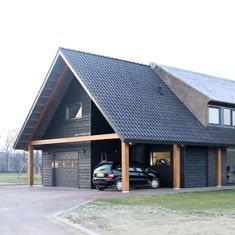 Carport Garage, Lucca, Home And Living, Tiny House, Houses, House Styles, Interior, Projects, Home Decor