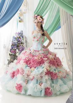 Stella de Libero Wedding Dresses — The Lilac Bridal Collection. #ステラデリベロ #カラードレス