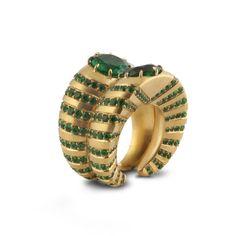 SABBA. An emerald ring.