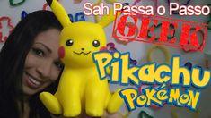 DIY- Pikachu (Pokemon) em Biscuit - Sah Passa o Passo GEEK