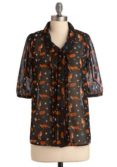 Come Sly with Me Top, #ModCloth