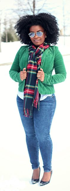 Love this confident natural handling the rigors of winter.  #naturalhair (2) Tumblr