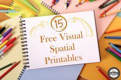 15 Free Visual Spatial Activities