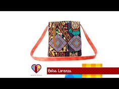 Bolsa de tecido Lorenza. Compre o projeto com moldes medidas e passo a passo no Maria Adna Ateliê - YouTube