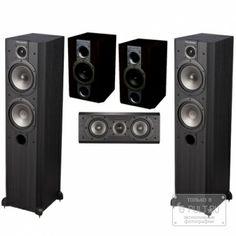 Комплект акустики Wharfedale Vardus 3050 Set 5.0 Blackwood