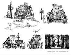 (E)(N)'s BLOG: More Gravity Falls Development