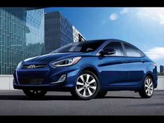 Hyundai Accent Dazzling Blue