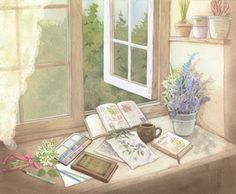 lullatone - little song about raindrops Cute Illustration, Watercolor Illustration, Watercolor Paintings, Small Paintings, Aesthetic Desktop Wallpaper, Scenery Wallpaper, Aesthetic Drawing, Aesthetic Art, Anime Drawings Sketches
