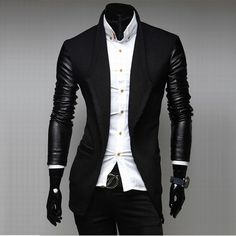 552b05fbac7e6 Clothing I Want · Zian® Men s Lapel Fashion Stitching Solid Color Casual  Tweed Long Sleeve Trench Coat – USD