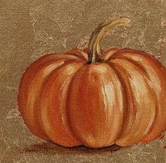 Bobbi Dawn Rightmyer, Kentucky Autor: Der Herbst liegt in der Luft - My CMS Pumpkin Canvas Painting, Autumn Painting, Autumn Art, Canvas Art, Fall Paintings, Pumpkin Drawing, Pumpkin Art, Art Halloween, Halloween Painting