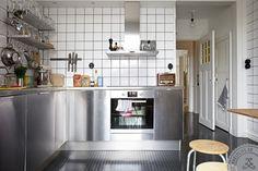 Industrial Stainless Steel Kitchen