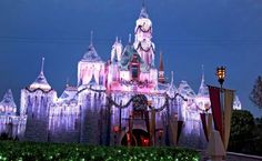 Sleeping Beauty's castle can brighten up any night.