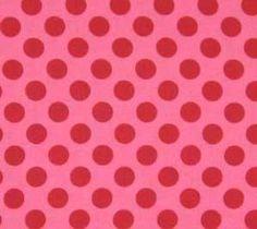 Michael Miller Ta Dot Pink Fabric
