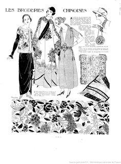 1922/09/03 Les Modes de la femme de France chinoises
