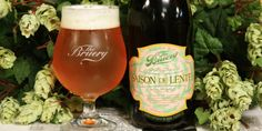 Saison De Lente by The Bruery - Most breweries tend to use saisons as their Spring seasonal offering. But then again, no other breweries are The Bruery. This bad boy is brewed with wild Brettanomyces yeast, and, as with a lot of their bottles, this can be cellared to enjoy sometime next Spring… or next Winter, when you'll need something to help yourself get through the rough months. Whatever you do, drink this while eating a lobster roll: you won't be mad about it.