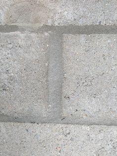 Het voegsel tussen stenen.