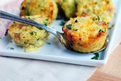 recipe-  Broccoli and Cheese Quinoa Mini Muffins