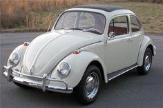 white vw beetle side profile - Google Search