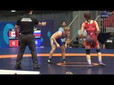 2016 JR World Championship FW48kg Jade Dufour (CAN) vs Nedezhda Sokolova (RUS)