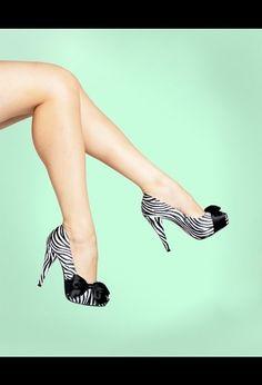 Zebra heels would be soooo cute under wedding OR bridesmaid dresses