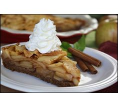 HG's Gooey-Good Fuji Apple Pie....4 points per slice