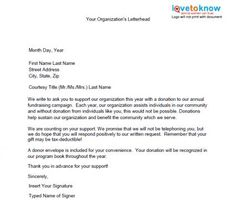 political fundraising letter template.html