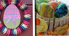Lavoretti per Pasqua con le mollette per il bucato. 20 idee da copiare! Crafts, Home Decor, Clothes, Home, Tutorials, Outfits, Manualidades, Decoration Home, Clothing