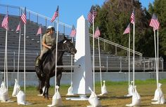 Police horses compete in Washington-themed obstacle course - The Washington Post