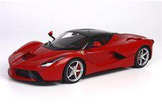 BBR Models: Ferrari LaFerrari - Geneva Motor Show 2013 - Rosso Corsa Red (P1867) in 1:18 scale