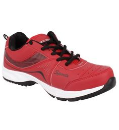 d634d1e138e680 Sarva Mens Sport Shoe Red Get fit in style with Latest Sport Shoes Up To 70