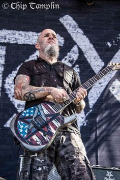 Anthrax - Scott Ian by Chip Tamplin