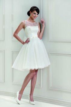 Trouwen in een korte witte jurk, kan dat