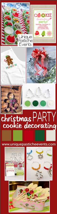 Christmas Cookie Decorating Party Ideas by Unique Pastiche Events