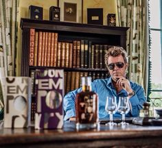 """Mags [his looks is just saying, """"hell yeah I designed this bad ass cognac bottle, hell yes it's Magne-ficent!""""]"""