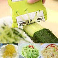 New Vegetable Potato Carrot Fruit Twister Cutter Slicer Peeler Kitchen Tool