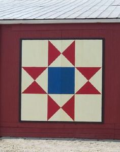 Barn Quilt Patterns To Paint | Ohio Star , Barb and Gary Havens, 723 Greenlee Road, Ross County ...
