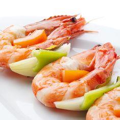 Los #camarones son bajos en grasas y colesterol y tienen muchas proteínas, por eso son perfectos para dietas de adelgazamiento. #propiedades #alimentos