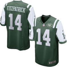 Ryan Fitzpatrick New York Jets Nike Game Jersey - Green
