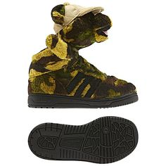 adidas Jeremy Scott Camo Bear Shoes