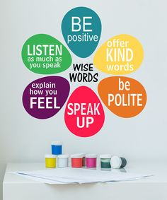 Love this DecorDesigns 'Be Positive' Quote Wall Decal by DecorDesigns on #zulily! #zulilyfinds