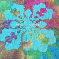 #하와이안퀼트 #hawaiianquilt  #BABYQUILT #MUSTKIT #handmade  #handdyedfabric #applique #aloha #hawaii #quilt  #머스트의퀼트교실  #머스트의하와이안퀼트클럽 #ハワイアンキルト #手染め