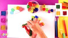 Finger family song for children Painting Activities, Painting Videos, Love Painting, Painting For Kids, Color Songs, Finger Family Song, Kids Songs, Great Videos, Body Paint
