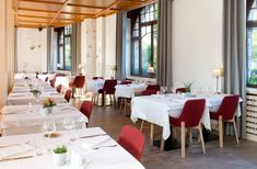 """Our Koila chairs in the hotel """"Le Clos des Sources"""""""