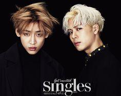 BamBam, Jackson - Singles Magazine January Issue '16
