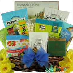 Mini sugar free gift basket free gifts and gift gourmet sugar free sugar free gift basket negle Image collections
