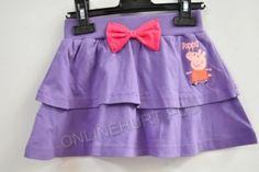 Spódnica Dziecięca Świnka Peppa ONL0367  _A12  (3-8)