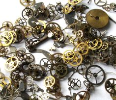 150+Watch Gears,Parts for Steampunk projects
